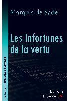 Cover-Bild zu Marquis de Sade: Les Infortunes de la vertu (grands caractères)