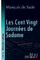 Cover-Bild zu Marquis de Sade: Les Cent Vingt Journées de Sodome (grands caractères)