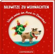 Cover-Bild zu Petersen, Caroline (Illustr.): Bildwitze zu Weihnachten
