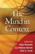 Cover-Bild zu Mesquita, Batja (Hrsg.): The Mind in Context