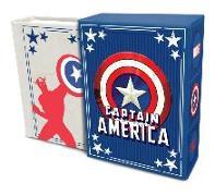 Cover-Bild zu Matt Singer: Marvel Comics: Captain America: Inspirational Quotes From the First Avenger (Tiny Book)
