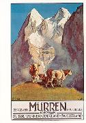 Cover-Bild zu 1182; PlakK A6: Mürren Bergbahn 1925