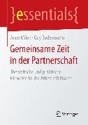 Cover-Bild zu Bodenmann, Guy: Gemeinsame Zeit in der Partnerschaft (eBook)