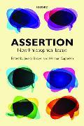Cover-Bild zu Brown, Jessica (University of St Andrews) (Hrsg.): Assertion