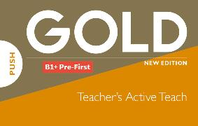 Cover-Bild zu New Gold Pre-First NE 2019 Classroom Presentation Tool (ActiveTeach)