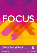 Cover-Bild zu Focus BrE Level 5 Teacher's Active Teach