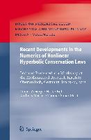 Cover-Bild zu Ansorge, Rainer (Hrsg.): Recent Developments in the Numerics of Nonlinear Hyperbolic Conservation Laws