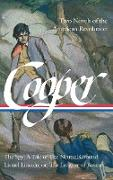 Cover-Bild zu Cooper, James Fenimore: James Fenimore Cooper: Two Novels of the American Revolution (LOA #312)