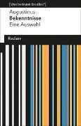 Cover-Bild zu Augustinus: Bekenntnisse