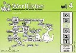 Cover-Bild zu Harries, Brigitte: Wortlisten 4. Trainingsprogramm mir Wörtern und Texten