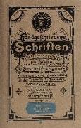 Cover-Bild zu Handgeschriebene Schriften von Endress, Franz
