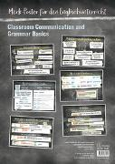 Cover-Bild zu Merk-poster für den Englischunterricht - Classroom Communication and Grammar Basics von Müller, Juliane