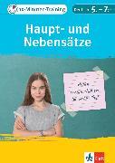 Cover-Bild zu Klett 10-Minuten-Training Deutsch: Grammatik Haupt- und Nebensätze 5.-7. Klasse (eBook) von Hufnagel, Elke