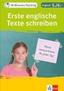 Cover-Bild zu 10-Minuten-Training Englisch Aufsatz: Erste englische Texte schreiben. 5./6. Klasse. Kleine Lernportionen für jeden Tag