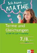 Cover-Bild zu Klett Ich kann ... Mathe - Terme und Gleichungen 7./8. Klasse (eBook) von Homrighausen, Heike