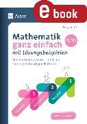 Cover-Bild zu Mathematik ganz einfach mit Lösungsbeispielen 9-10 (eBook) von Seifert, Hardy