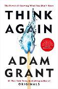 Cover-Bild zu Grant, Adam: Think Again