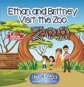 Cover-Bild zu Job, Jj: Ethan and Britney Visit the Zoo (eBook)