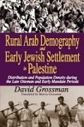 Cover-Bild zu Rural Arab Demography and Early Jewish Settlement in Palestine (eBook) von Grossman, David