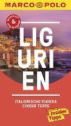 Cover-Bild zu Dürr, Bettina: MARCO POLO Reiseführer Ligurien, Italienische Riviera, Cinque Terre