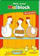 Cover-Bild zu Schmidt, Sandra (Illustr.): Mein erster Malblock Bauernhof