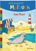 Cover-Bild zu Beurenmeister, Corina (Illustr.): Mein schönstes Malbuch Am Meer
