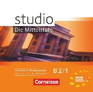 Cover-Bild zu Studio: Die Mittelstufe, Deutsch als Fremdsprache, B2: Band 1, Audio-CDs