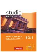 Cover-Bild zu Studio: Die Mittelstufe, Deutsch als Fremdsprache, B2: Band 1, Sprach- und Prüfungstraining, Arbeitsheft von Pasemann, Nelli