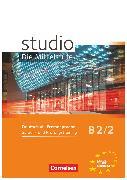 Cover-Bild zu Studio: Die Mittelstufe, Deutsch als Fremdsprache, B2: Band 2, Sprach- und Prüfungstraining, Arbeitsheft von Pasemann, Nelli