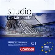 Cover-Bild zu Studio: Die Mittelstufe, Deutsch als Fremdsprache, C1, Audio-CD