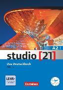 Cover-Bild zu Studio [21], Grundstufe, A2: Teilband 1, Das Deutschbuch (Kurs- und Übungsbuch mit DVD-ROM), DVD: E-Book mit Audio, interaktiven Übungen, Videoclips von Funk, Hermann