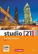 Cover-Bild zu Studio [21], Grundstufe, A1: Teilband 1, Das Deutschbuch (Kurs- und Übungsbuch mit DVD-ROM), DVD: E-Book mit Audio, interaktiven Übungen, Videoclips von Funk, Hermann