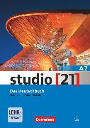 Cover-Bild zu Studio [21], Grundstufe, A2: Gesamtband, Das Deutschbuch (Kurs- und Übungsbuch mit DVD-ROM), DVD: E-Book mit Audio, interaktiven Übungen, Videoclips von Funk, Hermann