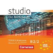 Cover-Bild zu Studio: Die Mittelstufe, Deutsch als Fremdsprache, B2: Band 2, Audio-CDs von Kuhn, Christina