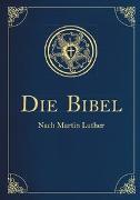 Cover-Bild zu Die Bibel - Altes und Neues Testament (Cabra-Leder-Ausgabe) von Luther, Martin
