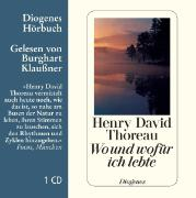 Cover-Bild zu Wo und wofür ich lebte von Thoreau, Henry David