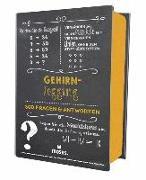 Cover-Bild zu Quiz-Box Gehirnjogging von Eichstädt, Manfred