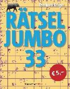 Cover-Bild zu Rätseljumbo 33 von Krüger, Eberhard