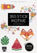Cover-Bild zu 365 Stickmotive - Das Vorlagenbuch von Dargel, Jennifer
