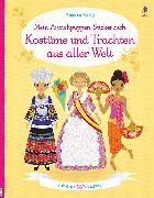 Cover-Bild zu Bone, Emily: Mein Anziehpuppen-Stickerbuch: Kostüme und Trachten aus aller Welt