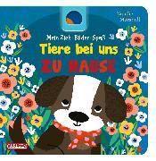 Cover-Bild zu Hofmann, Julia: Mein Zieh-Bilder-Spaß: Tiere bei uns zu Hause