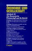 Cover-Bild zu Gijsel, Peter de (Hrsg.): Ökonomie und Gesellschaft / Die ökonomische Wissenschaft und ihr Betrieb