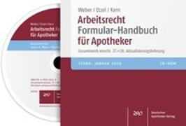 Cover-Bild zu Arbeitsrecht Formular-Handbuch für Apotheker von Weber, Stefan A. (Bearb.)