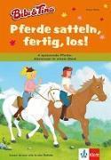 Cover-Bild zu Bibi & Tina - Pferde satteln, fertig, los! von Wolke, Rainer
