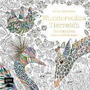 Cover-Bild zu Millie Marotta's Wundervolles Tierreich - Die schönsten Ausmalabenteuer von Marotta, Millie