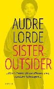 Cover-Bild zu Lorde, Audre: Sister Outsider (eBook)