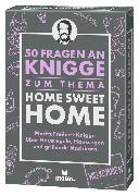 Cover-Bild zu 50 Fragen an Knigge zum Thema Home Sweet Home von Freiherr Knigge, Moritz