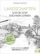 Cover-Bild zu Landschaften Step by Step zeichnen lernen von Eggleton, Margaret
