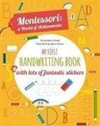 Cover-Bild zu Piroddi, Chiara: My First Handwriting Book with lots of fantastic stickers
