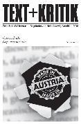 Cover-Bild zu eBook TEXT+KRITIK Sonderband - Österreichische Gegenwartsliteratur